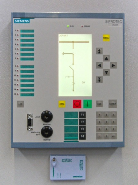 Synchrophaser measurement capability is often integrated with other power equipment such as a protective relay