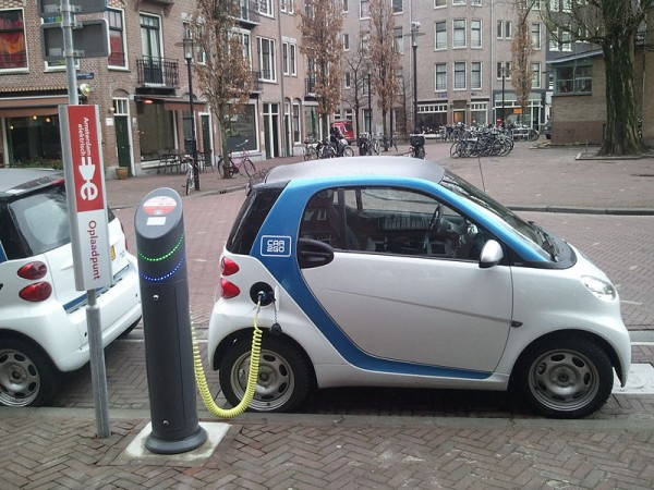 Electric Powered Car Charging