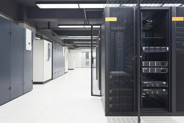 telecommunication server in data center